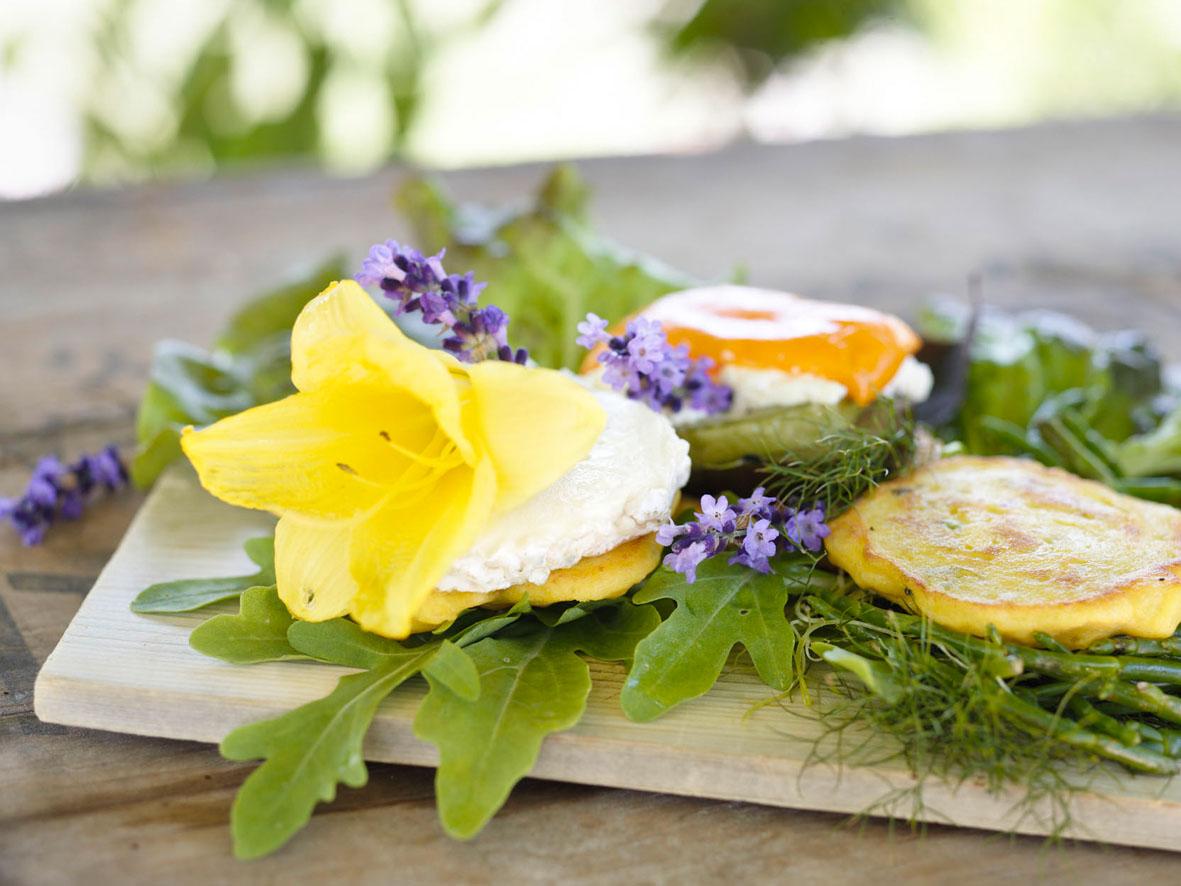 Garten und Gabel Lavendelgericht
