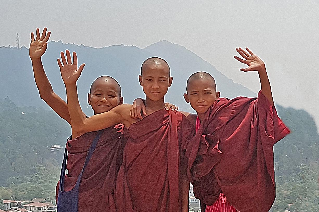 Aung Mitte 2 Ausflug