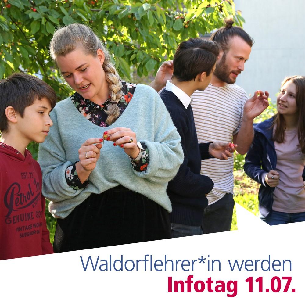 Waldorflehrer*in werden: Studieninformationstag, auch online