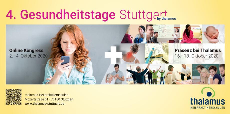 4. Gesundheitstage Stuttgart – Präsenzveranstaltungen
