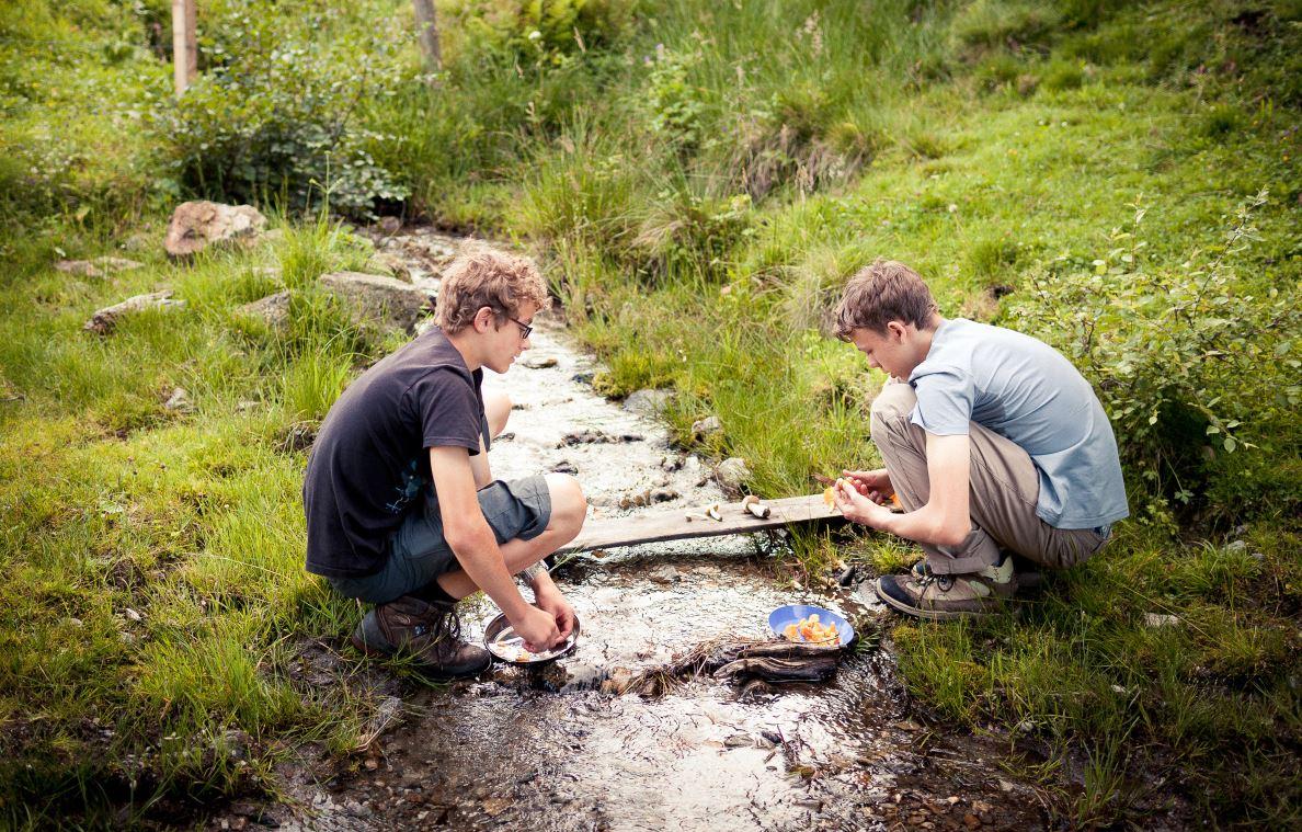Wildniscamp im Monbachtal
