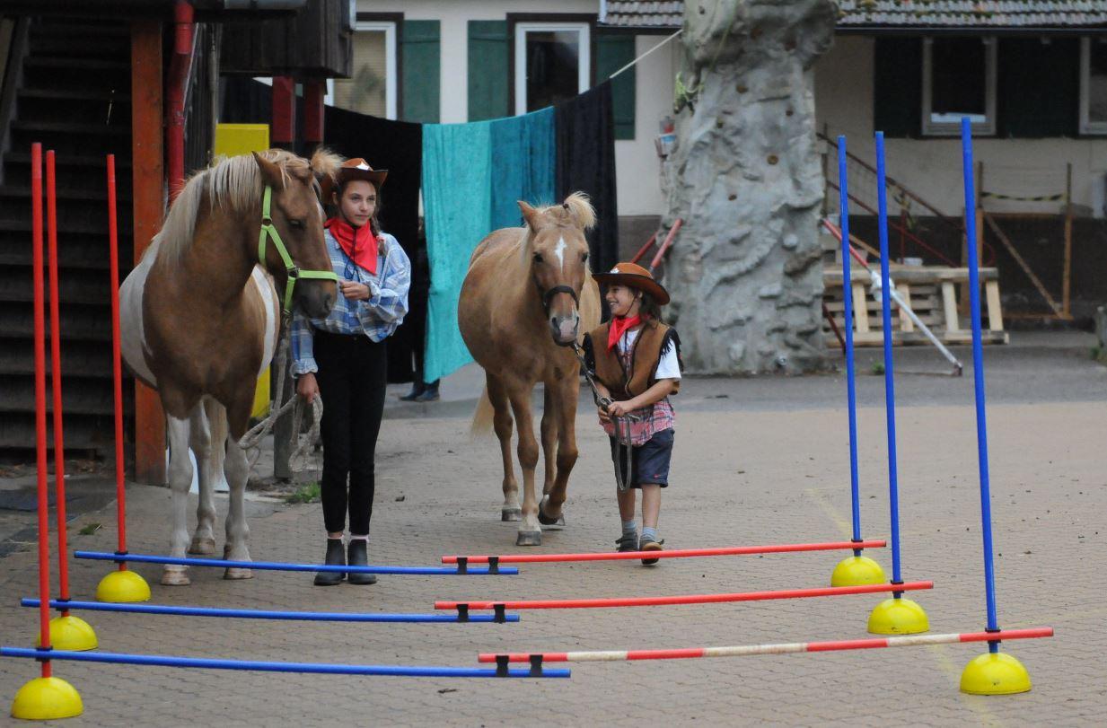 Reiterferien im Zirkus